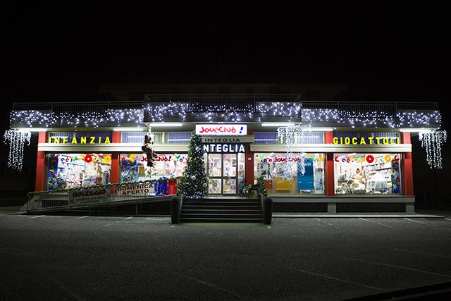 Integlia giocattoli negozio Natale 2