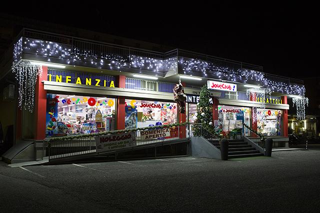 Integlia giocattoli negozio Natale