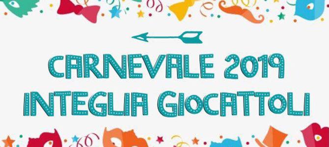 Carnevale 2019 all'Integlia Giocattoli